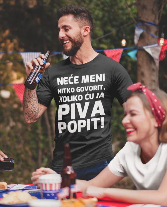 Smiješna majica bez piva