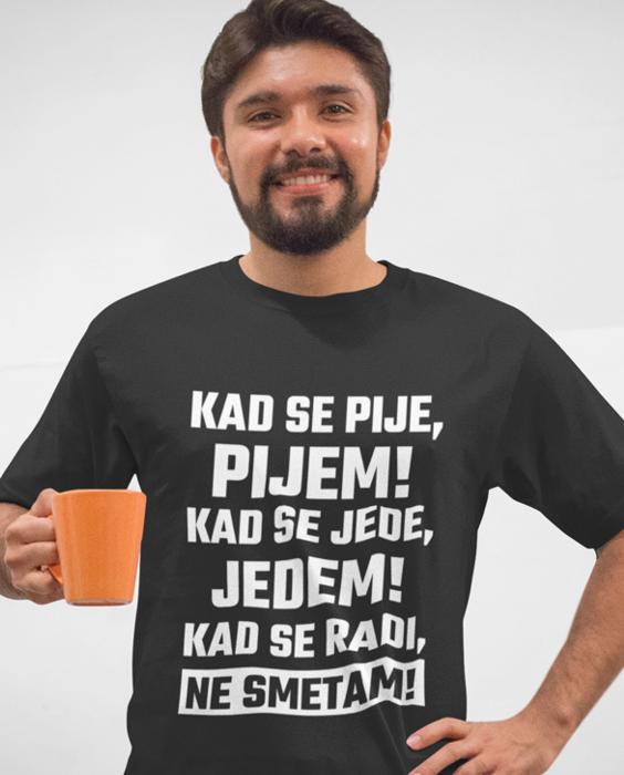 Smiješna majica ne smetam
