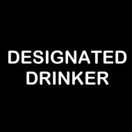 Zabavna pregača designated drinker