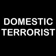 Zabavna pregača domestic terrorist