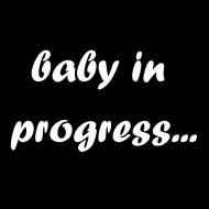 Majica za trudnice baby in progress...