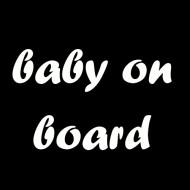 Majica za trudnice baby on board