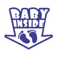 Majica za trudnice baby inside nogice