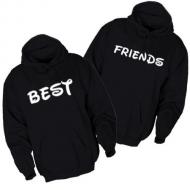 Majice sa kapuljačom best friends - 2 KOM