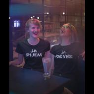 Smiješna komplet majica pijemo - 2 komada