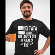 Smiješna majica buduči tata loading