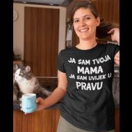 Smiješna majica ja sam tvoja mama / tvoj tata