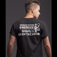 Smiješna majica puna energije