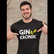 Smiješna majica gin kronik