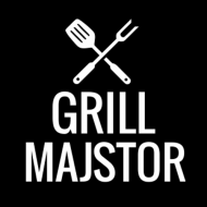 Zabavna pregača grill majstor
