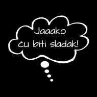 Majica za trudnice Jaaako ću biti sladak!