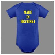 Dječji bodi made in Hrvatska