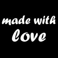 Majica za trudnice made with love