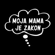 Majica za trudnice Moja mama je zakon