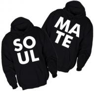 Majice sa kapuljačom za parove SOUL MATE - 2 KOM