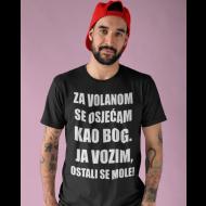 Smiješna majica za volanom