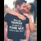 Smiješna majica savršen muž (ime žene po želji)