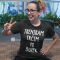 Smiješna majica treniram, trčim po burek